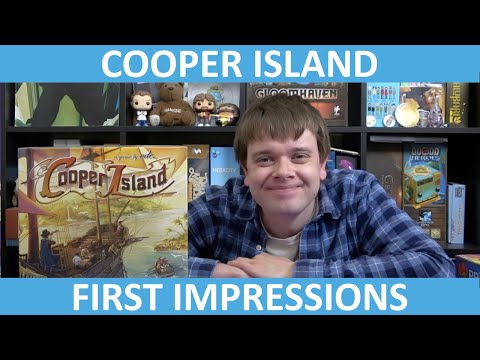 Cooper Island | First Impressions | slickerdrips