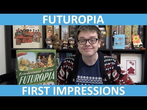 Futuropia - First Impressions - slickerdrips
