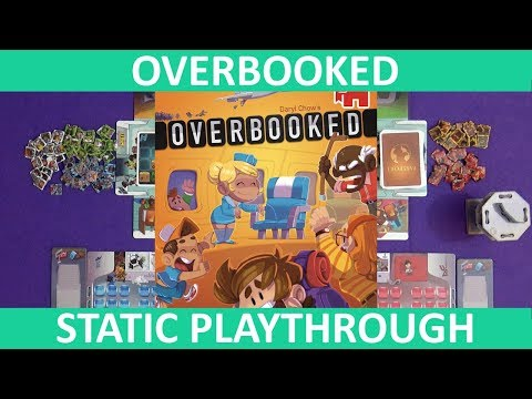 Overbooked | Playthrough (Static Camera) | slickerdrips