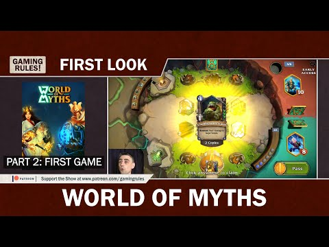World of Myths - First look - Part 2: My first game