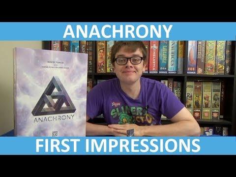 Anachrony - First Impressions