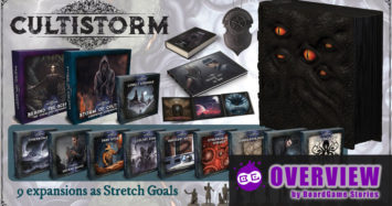 Cultistorm on Kickstarter | In Depth Overview!