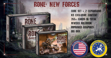 Rone: Races of New Era (2nd Edition) & New Forces Expansion up on Kickstarter