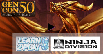 Gen-con50: Coverage of Ninja Division