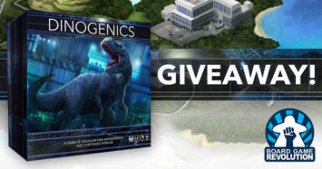 DinoGenics Giveaway by Board Game Revolution!
