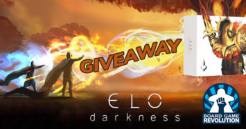 ELO Darkness Giveaway by Board Game Revolution!