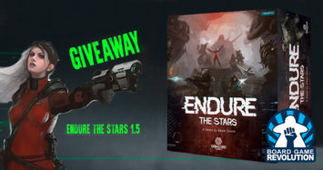 Endure the Stars Giveaway by Board Game Revolution!