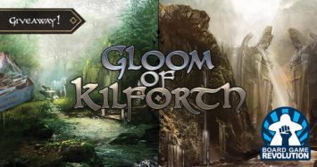 Gloom of Kilforth Giveaway by Board Game Revolution!