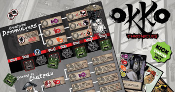 "OKKO CHRONICLES – ""PAGE 9"" Bakemono and Oni's Corruption track"