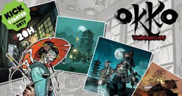 """OKKO CHRONICLES on Kickstarter Tomorrow! """"PAGE 10"""""""