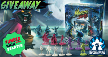 Monster Slaughter Giveaway by Board Game Revolution!