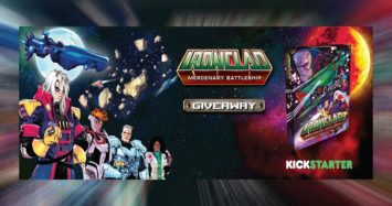 Ironclad Giveaway by Board Game Revolution!