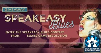 Speakeasy Blues Giveaway by Board Game Revolution!
