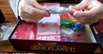 Mission: Red Planet (Second Edition) Unboxing