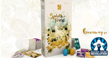 Spirits of The Forest Overview and Giveaway by Board Game Revolution!