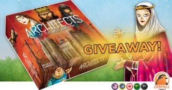 Architects of the West Kingdom Giveaway!