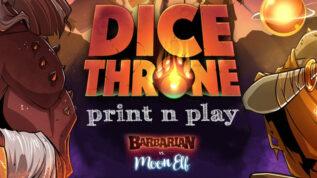 Dice Throne Print n Play
