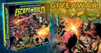 Escape from Dulce Worldwide Kickstarter Giveaway!