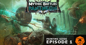 Mythic Battles Pantheon Painting Guide – Ep.1: Spartans