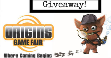 Origins Game Fair 2018 Giveaway!