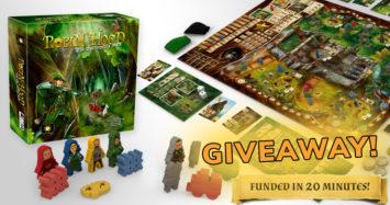 Robin Hood – Last Chance Worldwide Kickstarter Giveaway!