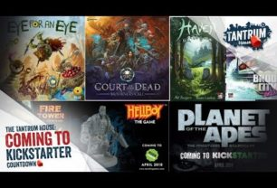 Kickstarter April 2018 – Upcoming Board Games