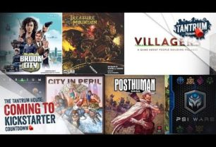 Kickstarter May 2018 – Upcoming Board Games