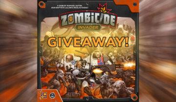 Zombicide: Invader – Worldwide Kickstarter Giveaway