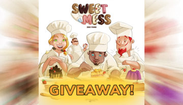 Sweet Mess  – Worldwide Kickstarter Giveaway