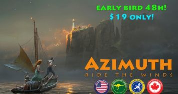 Azimuth: Ride The Winds – Now on Kickstarter!