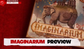 Imaginarium Board Game Preview!