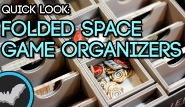 Folded Space Board Game Organizers
