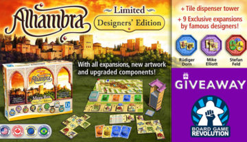 Alhambra Designer Edition – Worldwide Kickstarter Giveaway!
