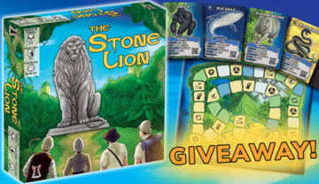 The Stone Lion – Kickstarter Review and Giveaway!