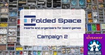Folded Space – Board Game Inserts and Organisers