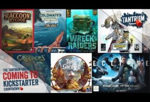 Kickstarter June 2018 – Upcoming Board Games
