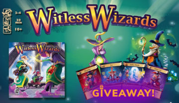 Witless Wizards Kickstarter Giveaway!