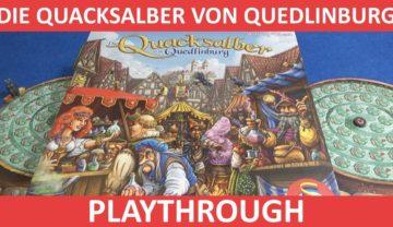 Die Quacksalber von Quedlinburg Playthrough