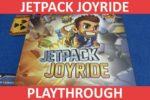 Jetpack Joyride Playthrough