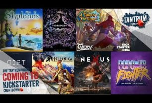 Kickstarter August 2018 – Upcoming Board Games