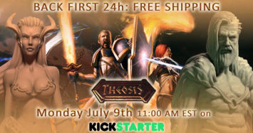 Theosis Board Game – Interview