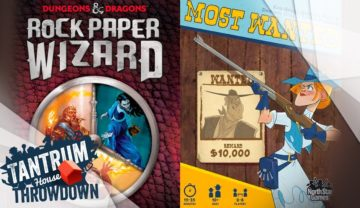 Rock Paper Wizard vs Most Wanted Throwdown