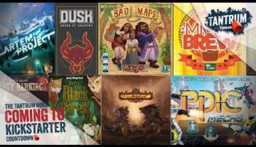Kickstarter September 2018 – Upcoming Board Games