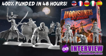 Moonshiners of the Apocalypse Board Game – Interview