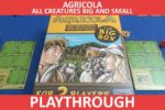 Agricola: All Creatures Big and Small – The Big Box Playthrough