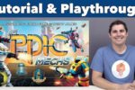 Tiny Epic Mechs Tutorial & Playthrough