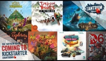 Kickstarter October 2018 – Upcoming Board Games