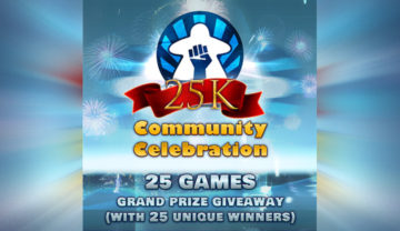 BGR25k – 25 Game Grand Prize Giveaway