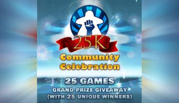 BGR25k – 25 Game Grand Prize Giveaway