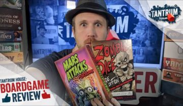 Cthulhu Dice VS Zombie Dice VS Mars Attacks the Dice Game